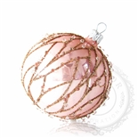 Christmas ornament – rose ball