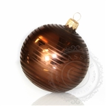 Brown Christmas ball